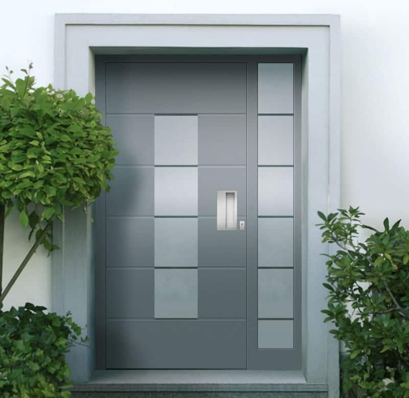 Haustür modern grau  Fenster, Haustüren & Stahltüren | Bauernschmidt