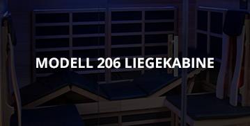 Modell-206-Liegekabine